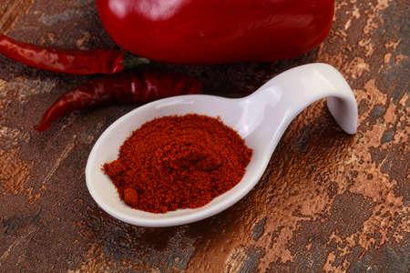 Sweet Paprika powder in the bowl