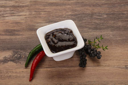 Spicy black pepper sauce for meat