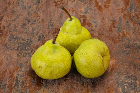 Sweet tasty seasonal Green pear heap
