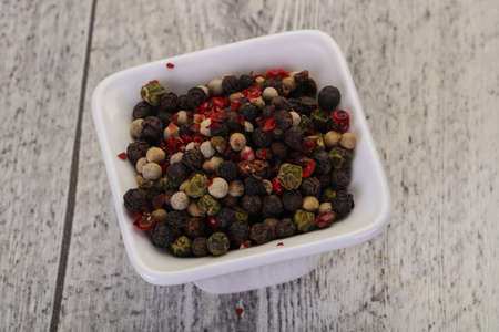 Pepper corn mix - black, red, white and green