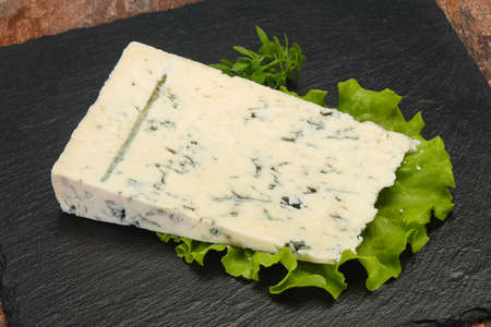 Italian traditional gorgonzola soft cheese with mold