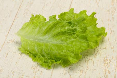 Dietary vegan cuisine Green salad leaves 스톡 콘텐츠