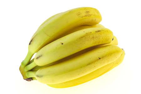Banana heap isolated on white background