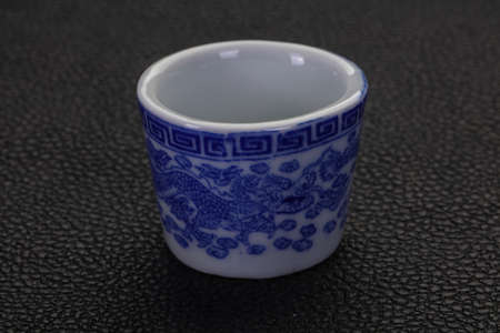 Empty Chinese cup for tea