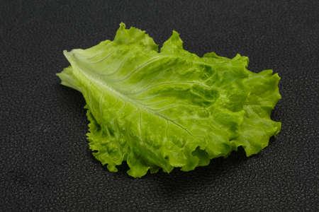 Dietary vegan cuisine Green salad leaves Stock Photo