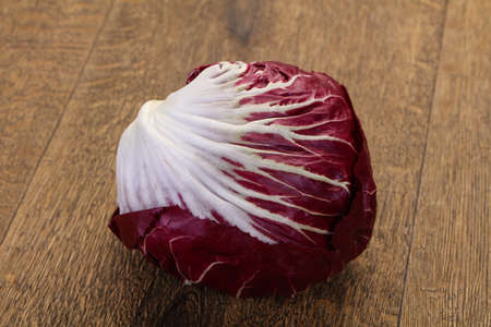 Fresh radicchio salad for cooking Stockfoto