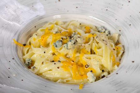 Delicious gurman Italian Pasta Four cheese