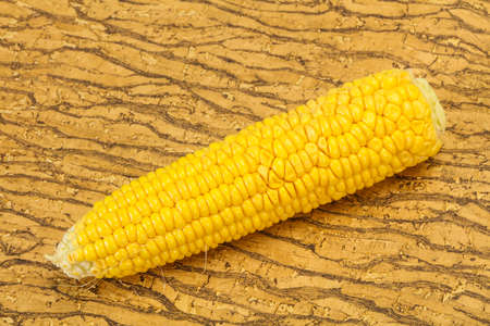 Sweet soft yellow natural corn for cooking