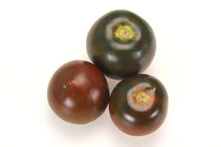 Black tomato -tasty fresh ripe Kumato 写真素材