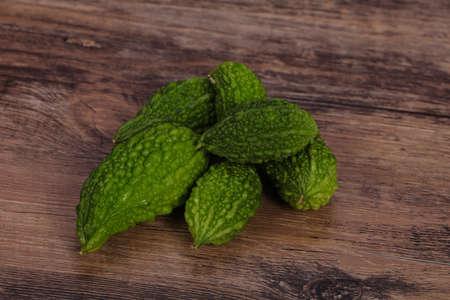 Tropical exotic vegetable - bitter melon heap