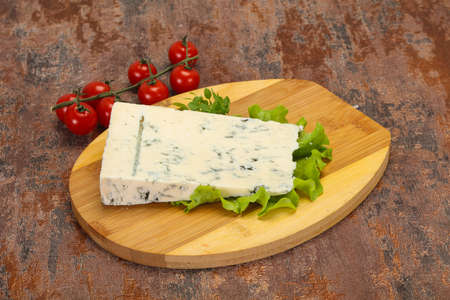 Italian traditional gorgonzola soft cheese