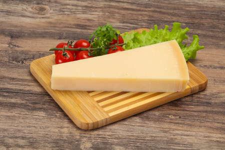 Italian traditional parmesan cheese triangle served salad Banco de Imagens