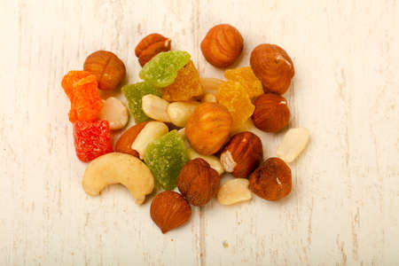 Nut and dry fruit mix Stock Photo