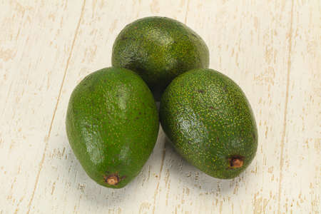 Ripe green dietary avocado - superfood for vegan Stock fotó