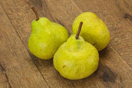 Sweet tasty seasonal Green pear heap