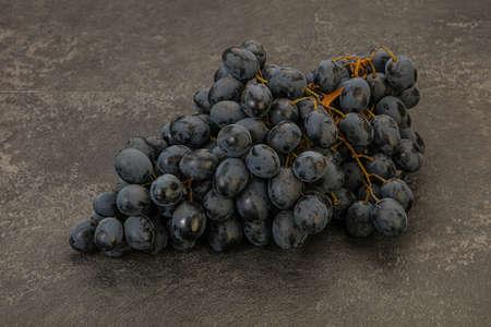Bunch of sweet ripe tasty grape Stock Photo