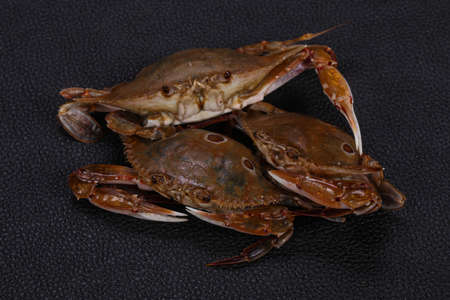 Natural Raw crab - ready for cooking