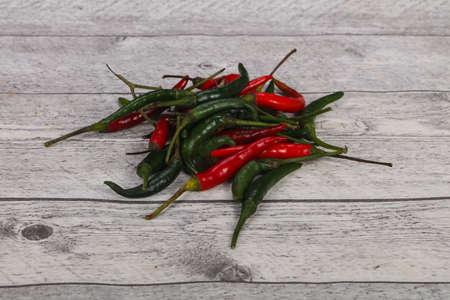 Ripe Hot and spicy Chili pepper heap