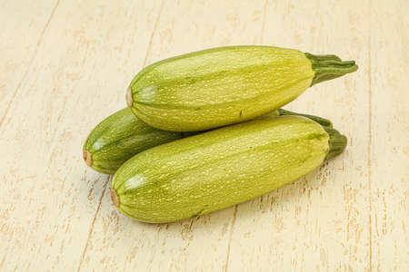 Young tasty zucchini for cooking
