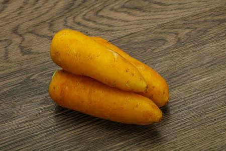 Natural vegan food - Raw Yellow carrot