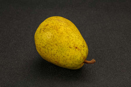 Ripe sweet juicy fresh green pear