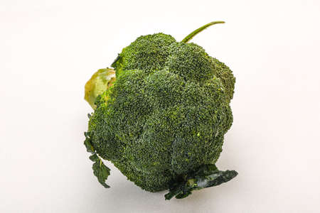 Vegan cuisine - Green fresh tasty Broccoli cabbage Archivio Fotografico