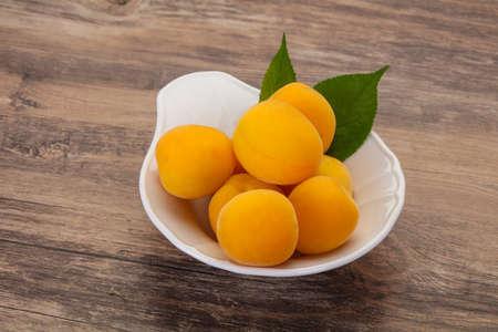 Ripe tasty sweet few apricots heap Reklamní fotografie - 151103253