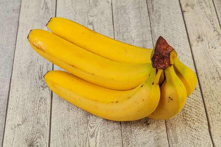 Sweet tasty banana heap over backgrouns