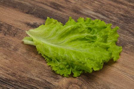 Dietary vegan cuisine Green salad leaves Banque d'images