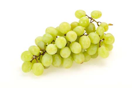 Sweet ripe fresh Green grape branch Foto de archivo