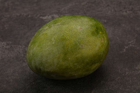 Tropical fruit - Green sweet tasty mango Banco de Imagens