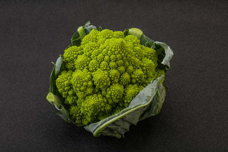 Tasty Vegan organic food - Romanesco cabbage