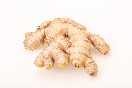 Natural organic raw ginger root aroma Reklamní fotografie