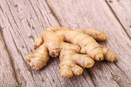 Natural organic raw ginger root aroma