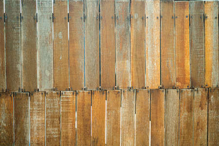 Wooden fence. Beautiful new wooden picket fence. Maldives