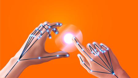 La reconnaissance gestuelle dans la réalité virtuelle et augmentée