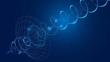 transmit: Abstract technology background.