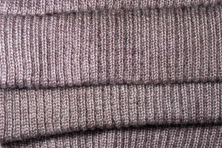 garb: decorative background of the knitted fabric closeup
