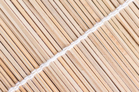 lineage: the background is made of thin bamboo sticks Stock Photo