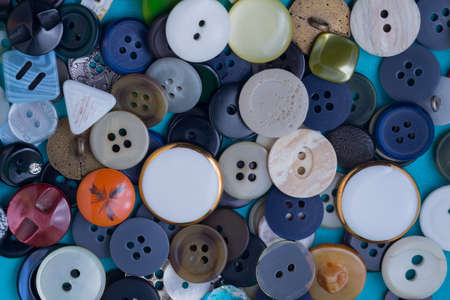 the background of a large number of buttons closeup photo