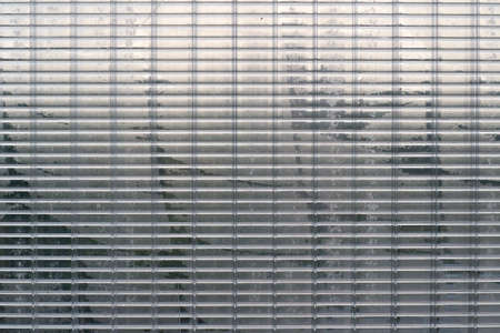 glint: texture transparent plastic surface with dark stripes