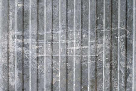 surface closeup: texture of old dirty metal surface closeup Stock Photo
