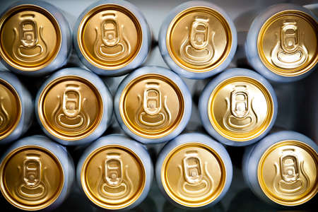 beer can: metal cans with refreshing drinks