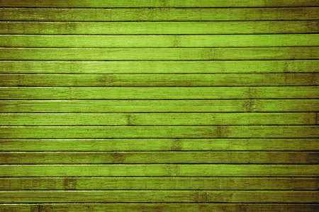 obsolete: Horizontal planked green bamboo tropical background. Obsolete texture
