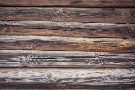 rustic: Rustic Log Cabin Wall Stock Photo