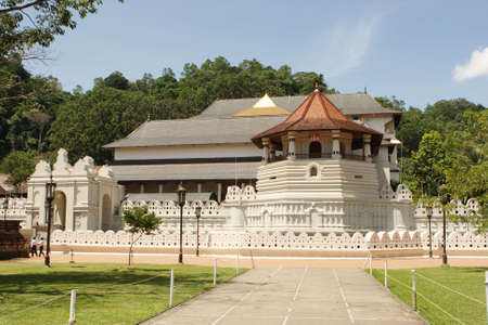 Temple of Tooth of Budda Candy Sri Lanka