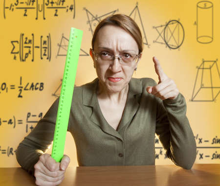 bossy: Crazy female teacher