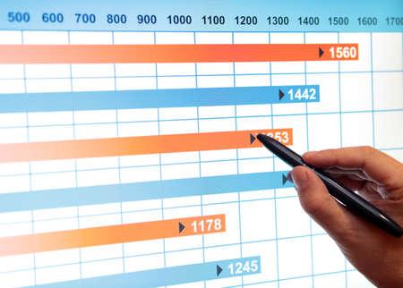 Market analyze Stock Photo - 15423115