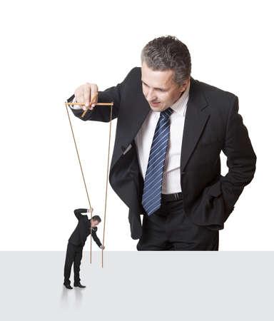 marioneta: Titiritero Concepto Autoridad General Gerente