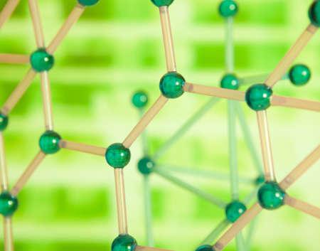 symbole chimique: Structure moléculaire